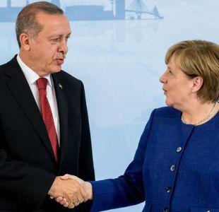 Merkel se reúne con Erdogan en antesala de cumbre de G20