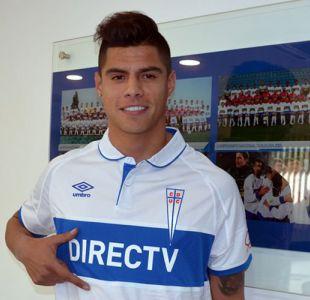 Defensa Benjamín Vidal llega a Universidad Católica hasta diciembre de 2019
