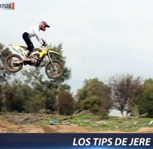 [VIDEO] En #D13motos imperdibles tips de Jeremías Israel sobre manejo en terreno