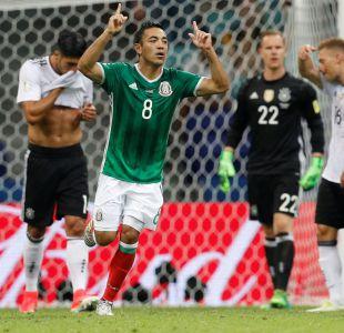 [VIDEO] Golazo de México a Alemania se convierte en el mejor tanto de la Copa Confederaciones