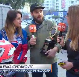 [VIDEO] Milenka Cvitanovic se confiesa en #D13motos tras coronarse campeona de velocidad
