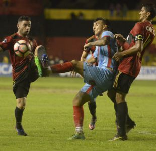 [VIDEO] Eugenio Mena marca su primer gol en Sport Recife en victoria sobre Coritiba