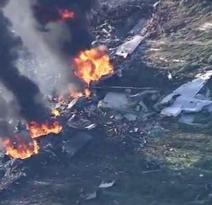 EEUU: 16 muertos en accidente de avión militar en Mississippi