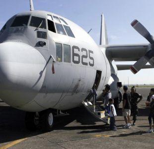 Confirman muerte de 16 personas en accidente de avión militar en Mississippi