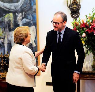 """Larraín Matte tras reunión con Bachelet: """"El sector privado puede trabajar con los gobiernos"""""""