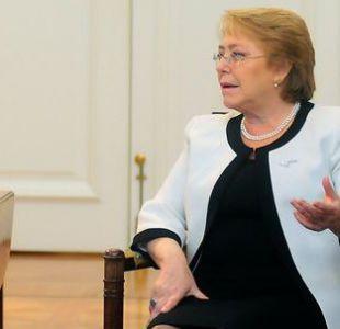 Bachelet por aborto: Las mujeres recuperamos un derecho básico que nunca debimos perder