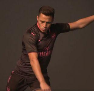 [VIDEO] Alexis protagoniza spot de nueva camiseta de Arsenal FC