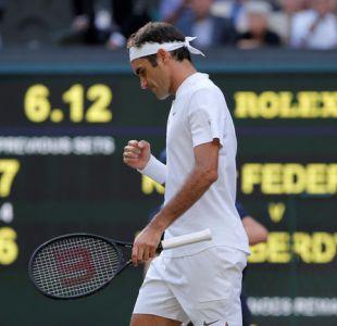 Federer imparable: Vence a Berdych y disputará su undécima final de Wimbledon