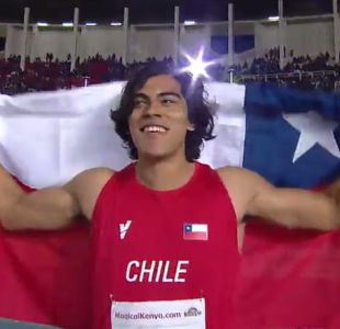 Atleta chileno Claudio Romero logra oro en Lanzamiento de Disco en Mundial Sub 18 de Nairobi