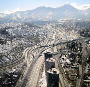 Santiago nevado