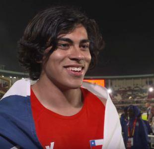 Claudio Romero agradece a su familia y amigos por medalla de oro en Mundial de Atletismo Sub 18