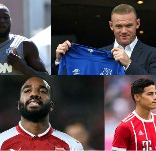 [FOTOS] Los fichajes más destacados de la temporada en el fútbol europeo