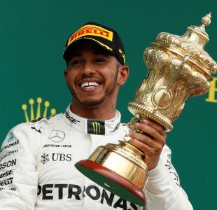 Fórmula Uno: Lewis Hamilton gana por cuarta vez consecutiva el GP de Gran Bretaña