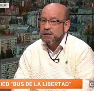 Rolando Jiménez del Movilh anuncia acciones legales contra Marcela Aranda