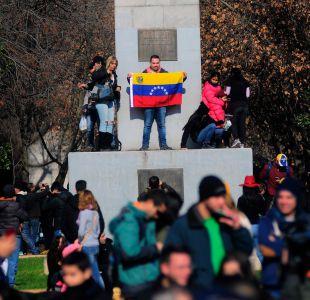 Los venezolanos residentes en Santiago y regiones organizan una consulta popular soberana, la cual se realizará en simultáneo en 536 ciudades de 82 países