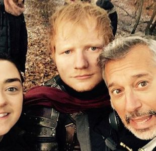 La comentada y popular aparición de Ed Sheeran en la serie Game of Thrones
