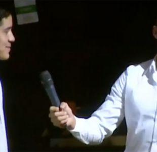[VIDEO] Alexis se luce animando en Tocopilla mientras se debate su futuro en Europa