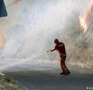 Incendios golpean a Italia, Croacia y Montenegro