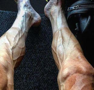 La impresionante foto de la transformación de las piernas de un ciclista durante el Tour de Francia