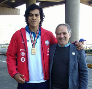 Claudio Romero llega a Chile tras oro en Kenia: Nunca imaginé un recibimiento así