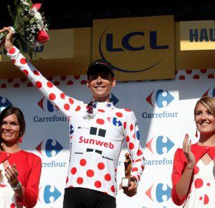 Tour de Francia: Barguil vence en el Izoard y Urán pierde la segunda plaza