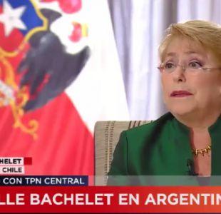Bachelet y demanda boliviana: No es posible obligar a dialogar para negociar entrega de soberanía