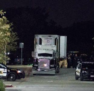 Hallan ocho cadáveres en un camión estacionado en frontera sur de EEUU