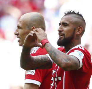 """Ancelotti asegura que Arturo Vidal no dejará el Bayern Munich: """"Se queda con nosotros"""""""
