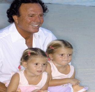 Las hijas gemelas de Julio Iglesias que sacan aplausos en Instagram