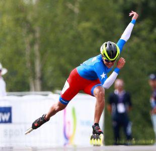 [VIDEO] Así fue la prueba que llevó a la patinadora María José Moya a ganar la medalla de oro