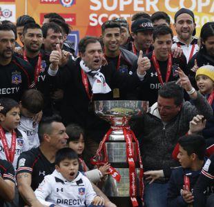 La millonaria motivación que tuvo Colo Colo para vencer a la UC en la Supercopa