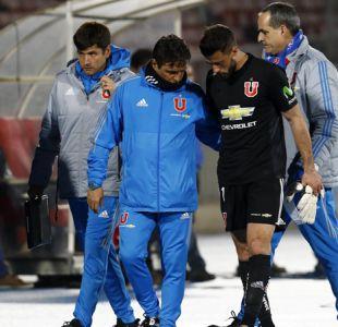 """Buenas noticias para la """"U"""": De Paul será baja por sólo dos semanas tras lesión"""