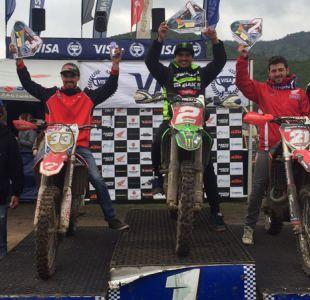 """Motociclismo: """"Toro"""" Rojas gana la serie EnduroGP y supera a Fabio Mossini"""