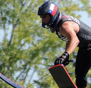 Otro chileno brilla en Juegos Mundiales: Rodrigo Miranda clasifica a final de salto en esquí náutico