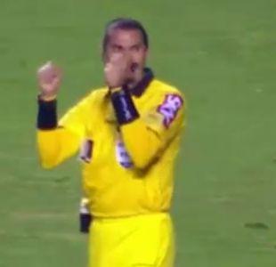 [VIDEO] Polémica en Brasil: Árbitro pita el final del partido y lo celebra