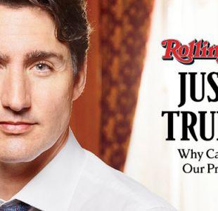 Rolling Stone pone en portada a Justin Trudeau y se pregunta: ¿Por qué no es el Presidente de EEUU?
