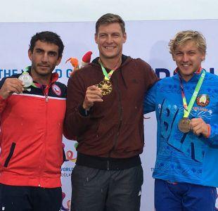 Rodrigo Miranda logra medalla de plata en salto del esquí náutico de los Juegos Mundiales