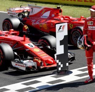 Sebastian Vettel junto a Ferrari logra la pole position del GP de Hungría