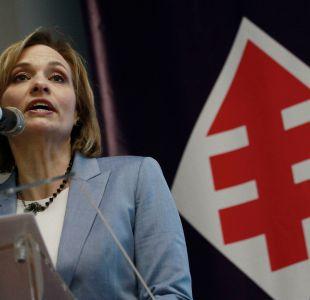 Carolina Goic en la Junta Nacional de la DC