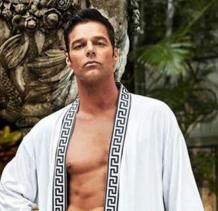 """Ricky Martin y su look para la nueva temporada de """"American crime story"""""""