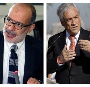 Gobierno llama a Piñera a no perder la compostura tras críticas a Valdés