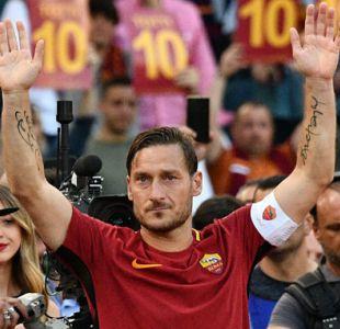 Última camiseta que vistió Francesco Totti en AS Roma es enviada al espacio