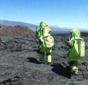 [VIDEO] Científicos entrenan en Hawai para entender cómo es vivir en Marte