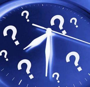 Cambio de hora: revisa la hora oficial