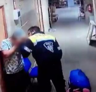 [VIDEO] Violenta agresión a paramédica embarazada por parte de su pareja