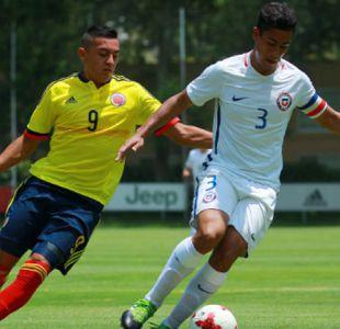 Chile Sub 17 iguala ante Colombia en duelo de preparación para el Mundial de India