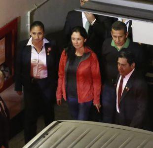 Ex presidente peruano Ollanta Humala y su esposa seguirán en prisión preventiva