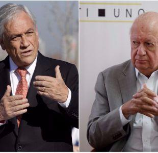 Ex presidentes Lagos y Piñera se enfrentan por ministro Valdés