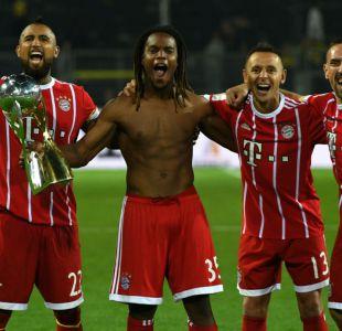 Arturo Vidal conquista un nuevo título oficial junto al Bayern Münich