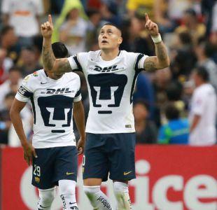 Nicolás Castillo, Felipe Mora, Edson Puch y Enzo Roco anotan en la liga mexicana